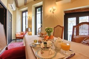 Breakfast at Welcome Hotel Paris