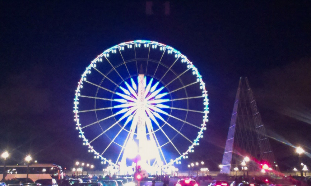 November 2017 in Paris: The Big Wheel