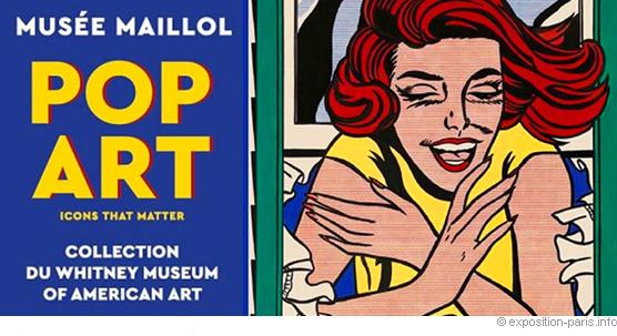 Novembre 2017 à Paris : Pop Art au Musée Maillol