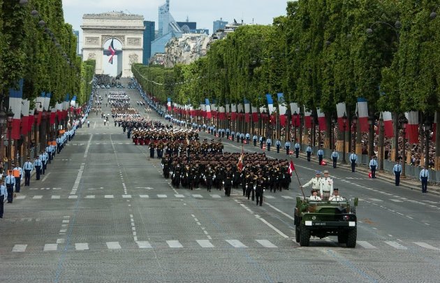 Weekend of July 14 in Paris : picture from parisinfo.fr