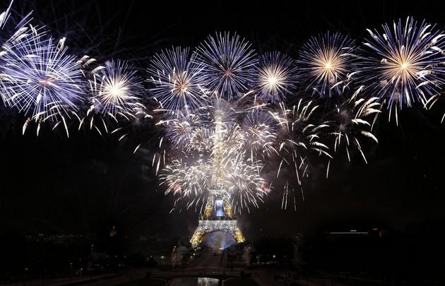 Week-end du 14 juillet à Paris
