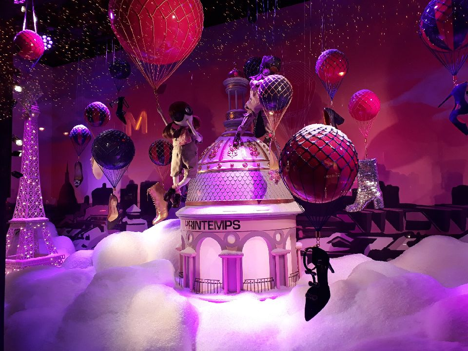 Christmas Lights In Paris.Christmas Lights In Paris And At Welcome Hotel Paris
