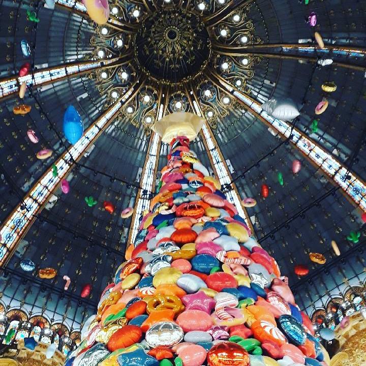 Les Illuminations de Noël à Paris et au Welcome Hôtel
