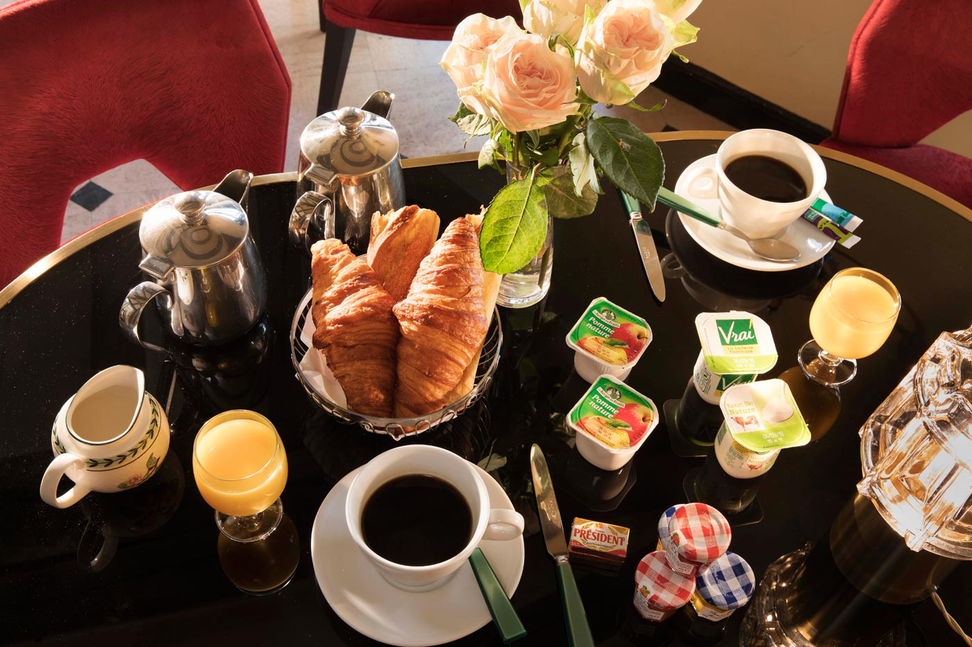 breakfast hotel welcome paris